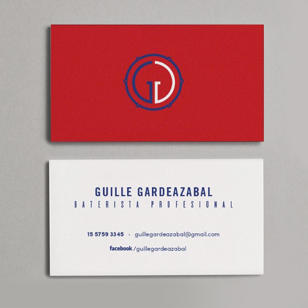 Tarjetas personales Guille Gardeazábal